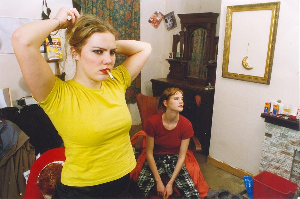Swedish Girls at Home in Dublin by Philip  Rogan