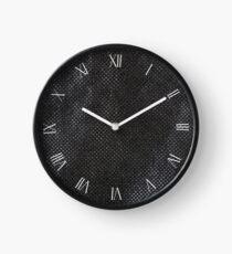 Reusable eco bag fabric sheet macro Clock