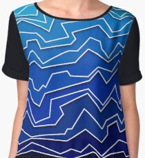 Polynoise Deep Layer Women's Chiffon Top