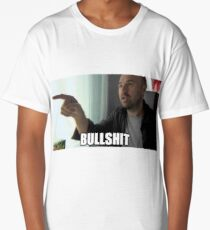 Karl pilkington bullshit meme Long T-Shirt