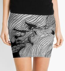Interlaced Mini Skirt