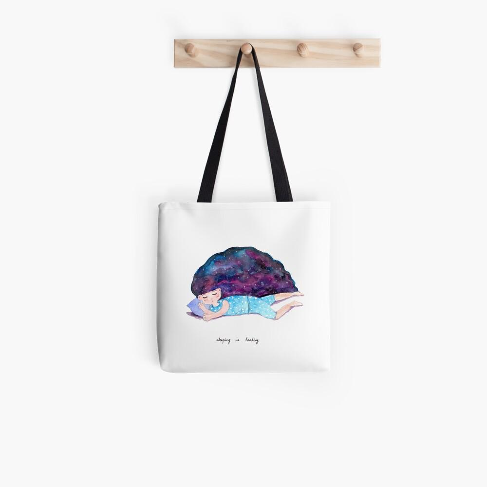 Sleeping is Healing Tote Bag