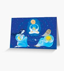 Star Keepers Greeting Card
