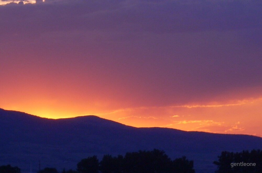 Summer Sunset by gentleone