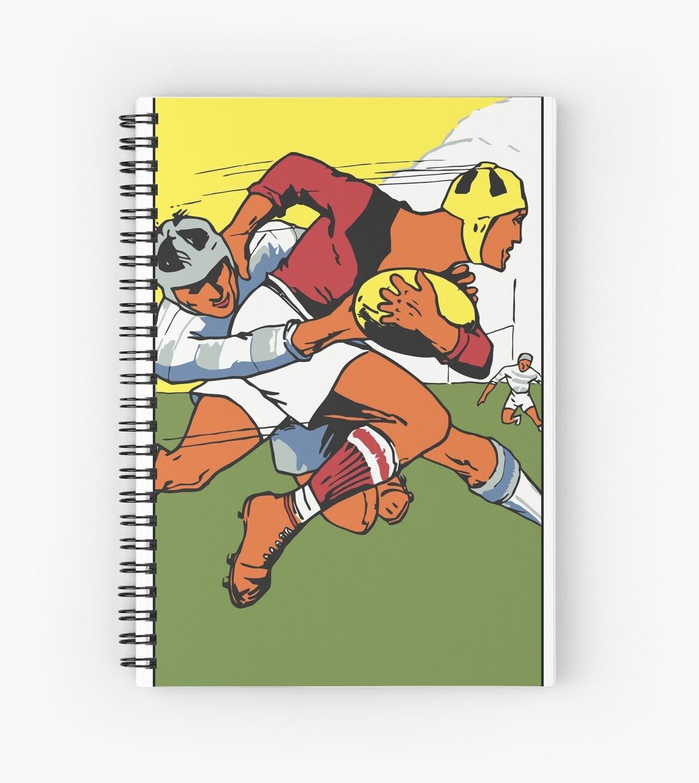 Retro Rugby 1924 Vektor Kunst von aapshop
