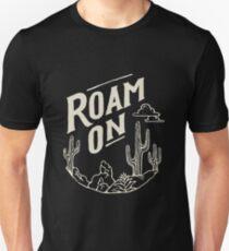 roam on Unisex T-Shirt