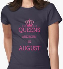 queens are born in august birthday gifts T-Shirt
