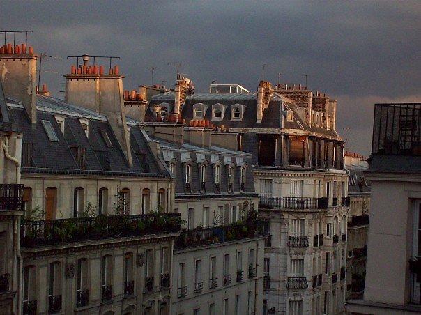 Paris Sunset by Blue Robinson