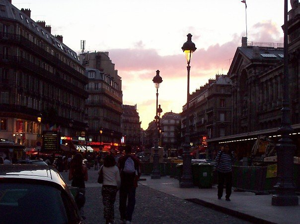 Streets of Paris by Blue Robinson
