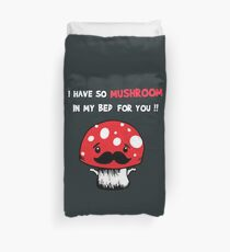 Mario Mushroom Duvet Cover