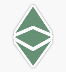 Ethereum Classic Logo Sticker