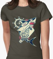Watery Grave Womens Fitted T-Shirt