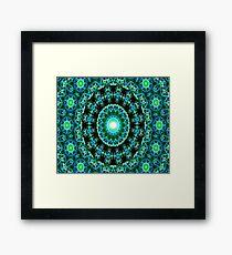 Dharma Garden (green) Framed Print