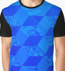 I Got The Blues and Abstract Cubes Graphic T-Shirt