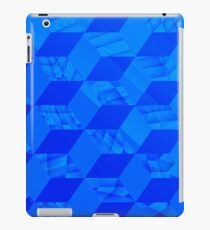 I Got The Blues and Abstract Cubes iPad Case/Skin
