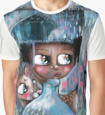 Oh! Deer, It's Raining  Graphic T-Shirt