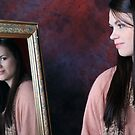 Gina through the looking glass! by LisaRoberts