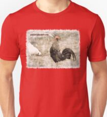 Rooster Crowing Unisex T-Shirt