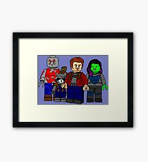 Defenders of the Universe Framed Print