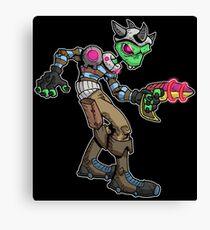 bounty hunter: morgin... Canvas Print