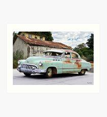 1950 Buick Special 'Soul' Survivor I Art Print