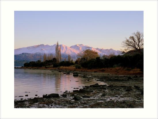 Winter Paradise... - Sunrise Wanaka - NZ by AndreaEL