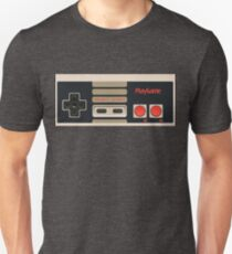 Video Game Console Nes Classic Gamepad Controller Unisex T-Shirt