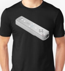 Video Game Console Nintendo Wii Remote gamepad controller Unisex T-Shirt