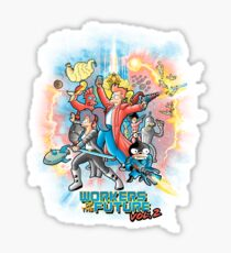 Workers of the future vol 2 Sticker