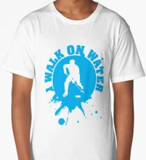 Hockey: I walk on water Long T-Shirt