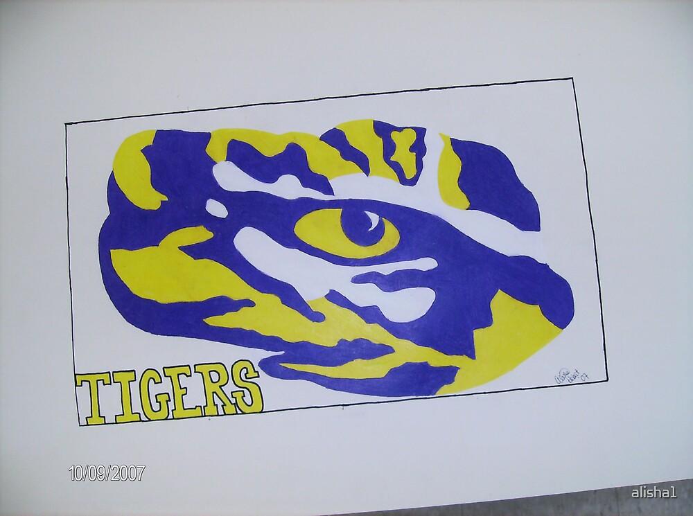 lsu tiger eye by alisha1