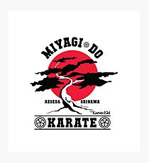 Karate Kid - Mr Miyagi Do Red Variant Photographic Print