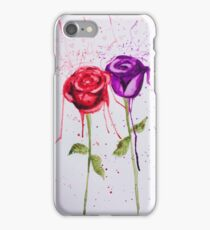 Bleeding roses Exploding hearts  iPhone Case/Skin