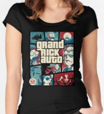 Grand Rick Auto Women's Fitted Scoop T-Shirt