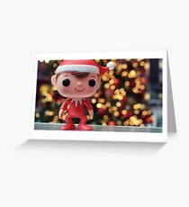 Elf on the Shelf Greeting Card