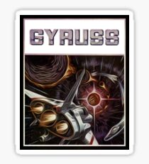 Gyruss - Atari 2600 / Nintendo Sticker