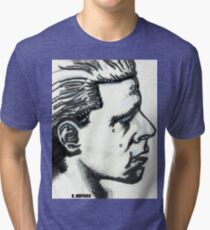 Profile of Man Tri-blend T-Shirt