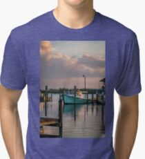 The DockOar at Sunset Tri-blend T-Shirt