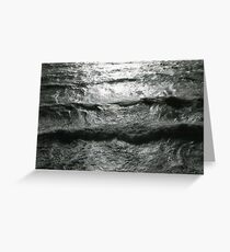 Waves in Exeter Greeting Card
