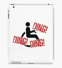 Ding ding ding! iPad Case/Skin