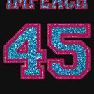 Impeach 45 Blue Glitter by Thelittlelord