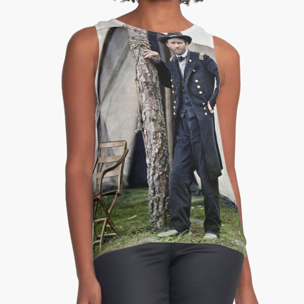 Ulysses S. Grant, Civil War general and 18th president of the US Sleeveless Top