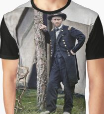 Ulysses S. Grant, Civil War general and 18th president of the US Graphic T-Shirt