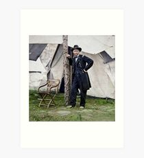 Ulysses S. Grant, Civil War general and 18th president of the US Art Print
