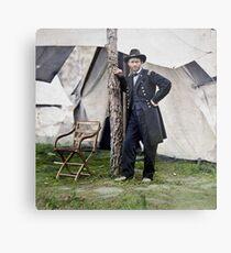 Ulysses S. Grant, Civil War general and 18th president of the US Metal Print