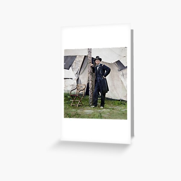 Ulysses S. Grant, Civil War general and 18th president of the US Greeting Card