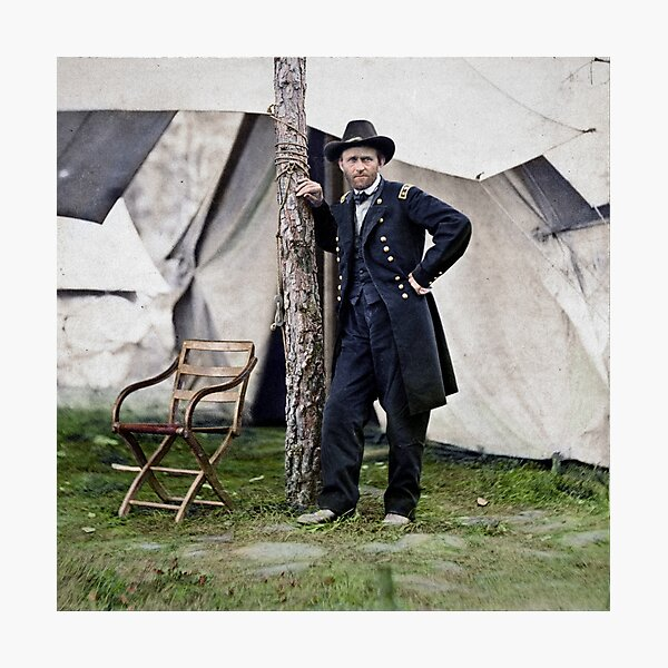 Ulysses S. Grant, Civil War general and 18th president of the US Photographic Print