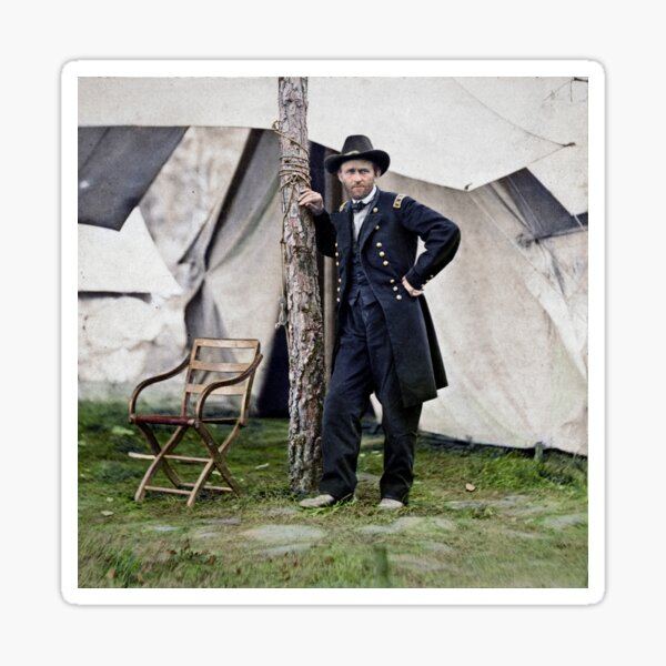 Ulysses S. Grant, Civil War general and 18th president of the US Sticker