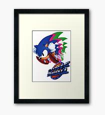 Sonic the Hedgehog Spinball  Framed Print