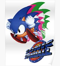 Sonic the Hedgehog Spinball  Poster